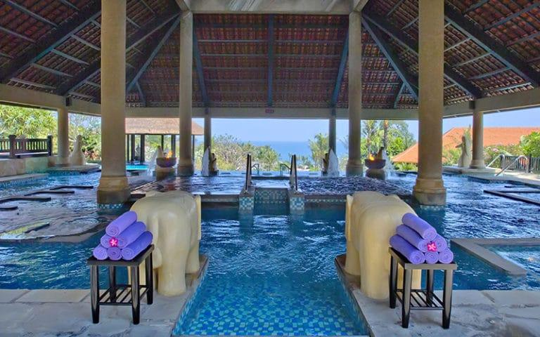Parcours Aquatonic à Bali